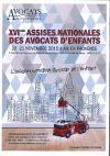 XVI eme Assises Nationales des Avocats de l'Enfant 20 et 21 novembre 2015